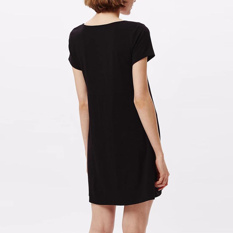 Vestido Obey: Pedal dress (Black)