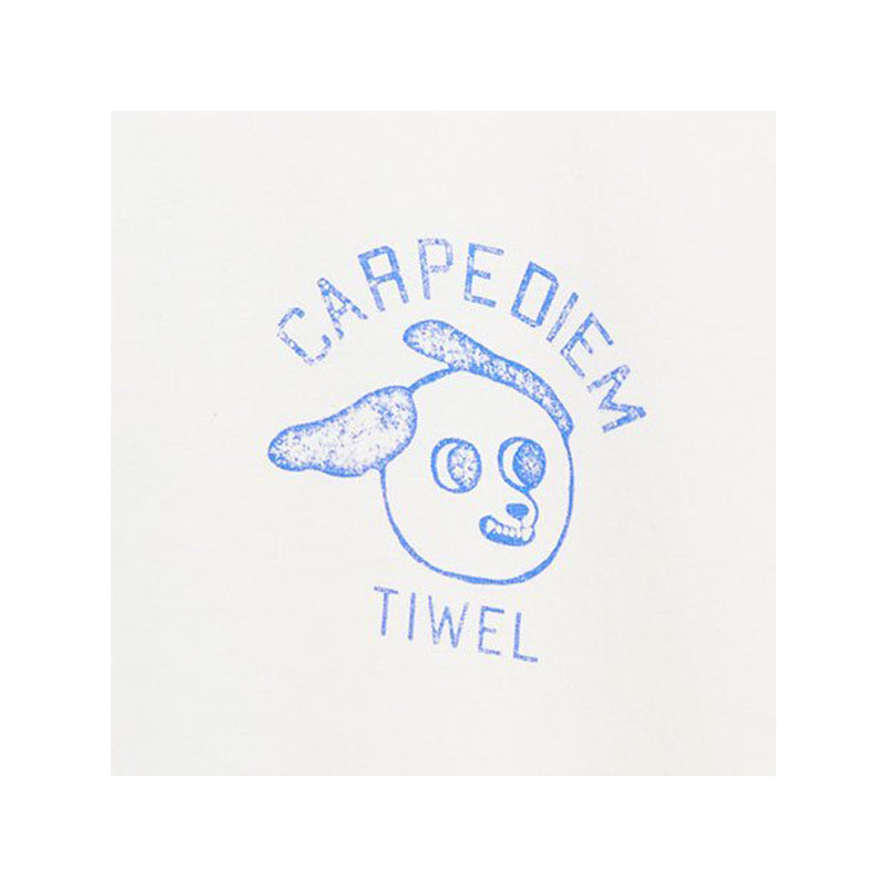 Camiseta Tiwel: DIEM (DOUBLE CREAM)