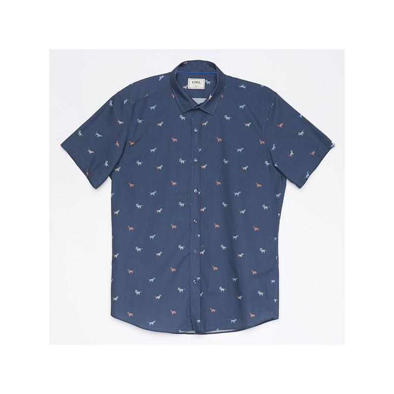 Camisa Tiwel: FAUNE (DARK BLUE)