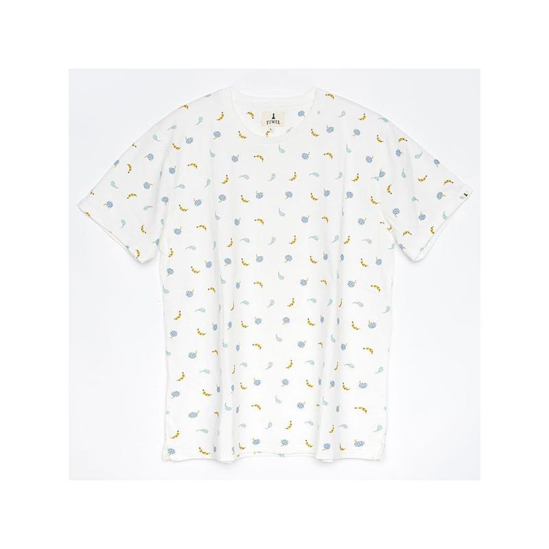 Camiseta Tiwel: SALAD (OFF WHITE)