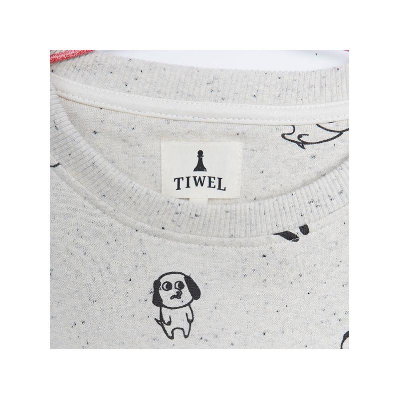 Sudadera Tiwel: TRISTAN (SWAN WHITE NEPP)