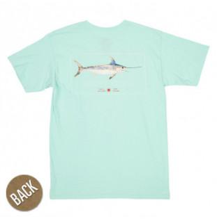 Camiseta Salty Crew: Flatbill SS (Sea Foam)