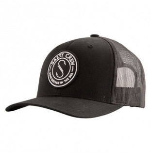 Gorra Salty Crew: Palomar Retro Trucker (Black)