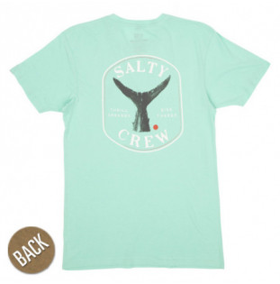 Camiseta Salty Crew: Fishstone Premium SS (Sea Foam)