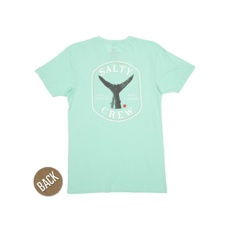 Camiseta Salty Crew: Fishstone Premium SS (Sea Foam)