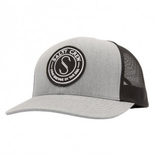 Gorra Salty Crew: Palomar Retro Trucker (Heather Grey Black)