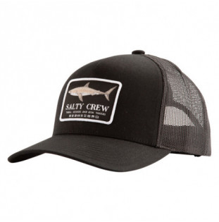 Gorra Salty Crew: Farallon Retro Trucker (Black)