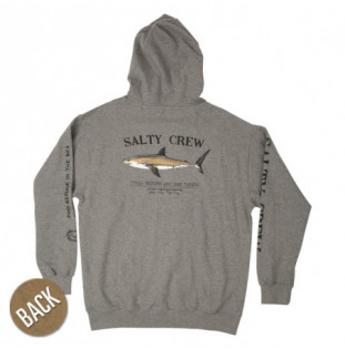 Sudadera Salty Crew: Bruce Hood (Gunmetal Heather)