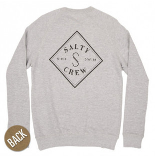 Sudadera Salty Crew: Tippet French Terry (Athletic Heather)
