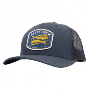 Gorra Salty Crew: Double Up Retro Trucker (Navy)