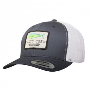 Gorra Salty Crew: MAHI Mount RETRO TRUCKER (Navy White)