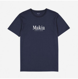 Camiseta Makia: Strait T Shirt (Dark Blue)
