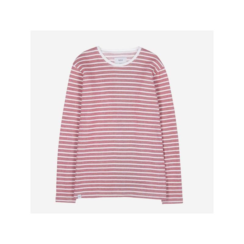 Camiseta Makia: Algot Long Sleeve (Red)