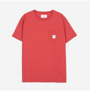 Camiseta Makia: Square Pocket T Shirt (Red) Makia - 1