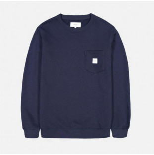 Sudadera Makia: Square Pocket Sweatshirt (Dark Blue)