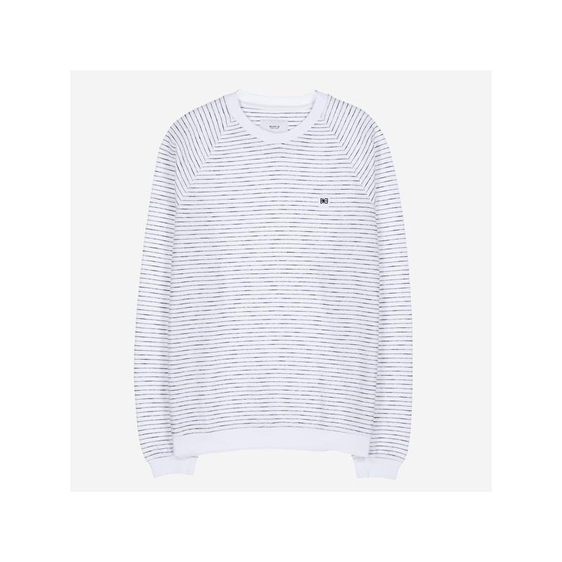 Sudadera Makia: Baxter Light Sweatshirt (White)