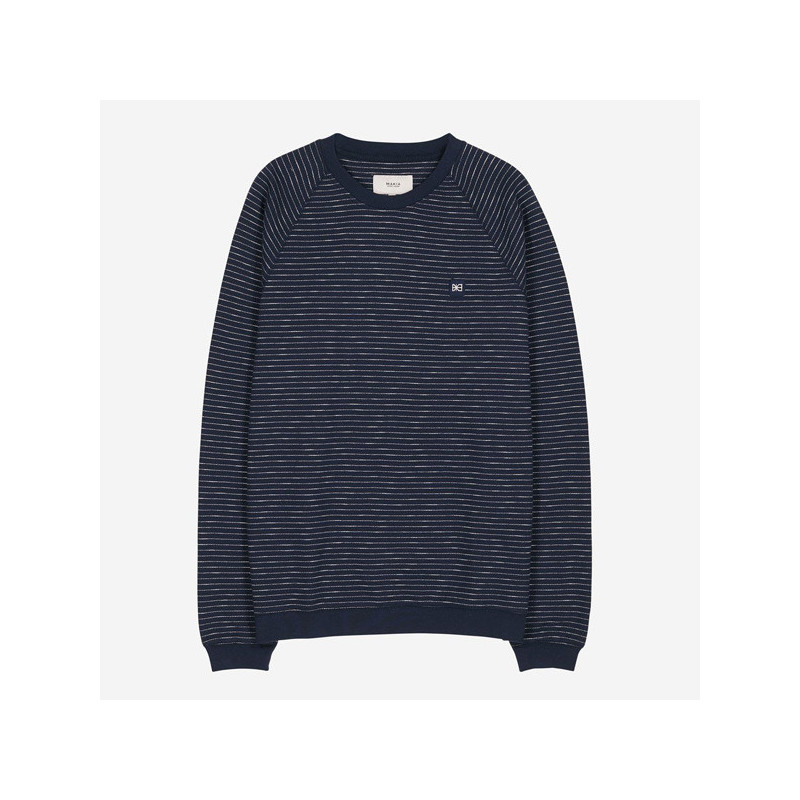 Sudadera Makia: Baxter Light Sweatshirt (Dark Navy)