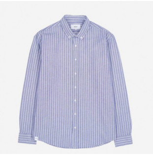 Camisa Makia: Astor Shirt (Dark Blue)