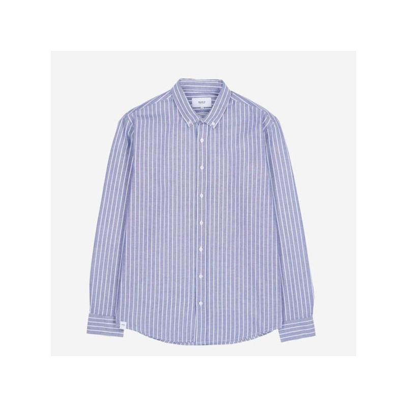 Camisa Makia: Astor Shirt (Dark Blue)
