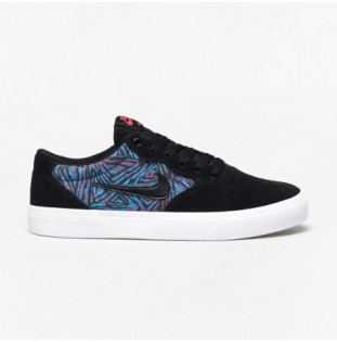 Zapatillas Nike: Chron Solarsoft Premium (BK LSR BL WTMLN)