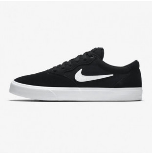 Zapatillas Nike: Chron Solarsoft (BLACK WHITE)