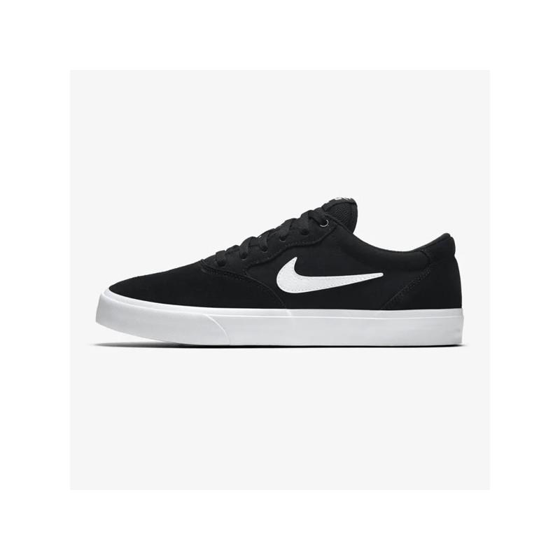 Zapatillas Nike: Chron Solarsoft (BLACK WHITE)