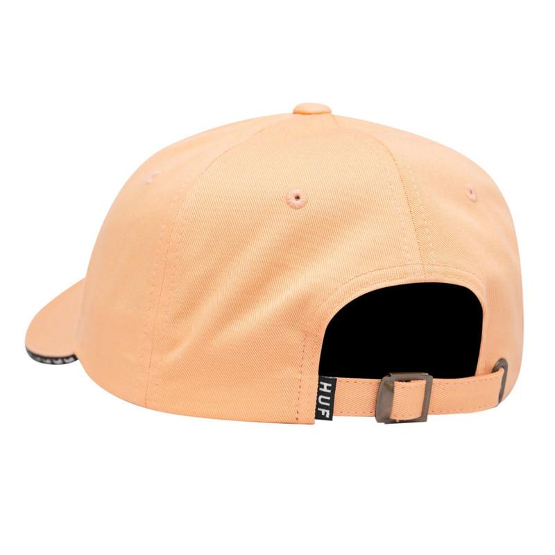 Gorra HUF: ELLIS CV 6 PANEL HAT (CORAL PINK)