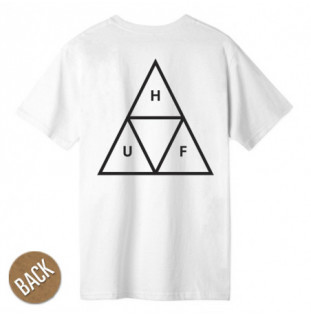 Camiseta HUF: ESSENTIALS TT SS TEE (WHITE)