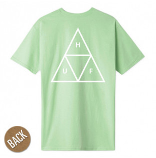 Camiseta HUF: ESSENTIALS TT SS TEE (MINT)