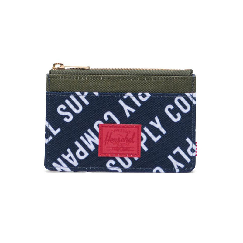Cartera Herschel: Oscar RFID (Roll Call Pea Wood Camo)