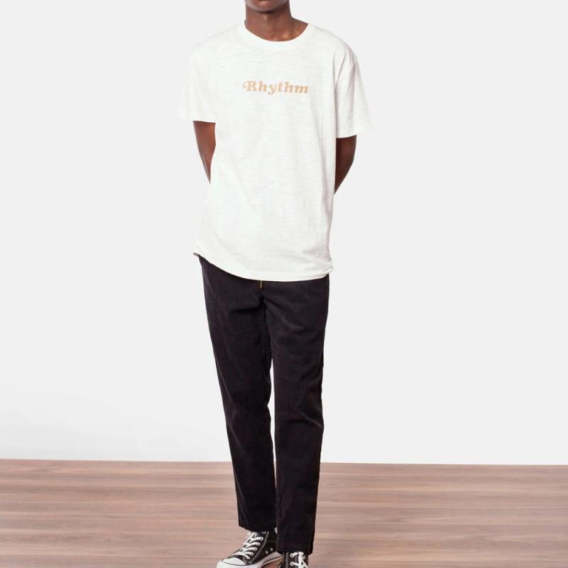 Camiseta Rhythm: CLASSIC T SHIRT (White)