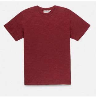 Camiseta Rhythm: BASIC SLUB T SHIRT (Raisin)