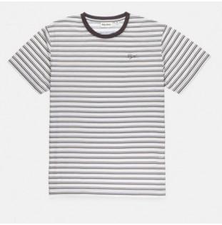 Camiseta Rhythm: EVERYDAY STRIPE T SHIRT (Stone blue)