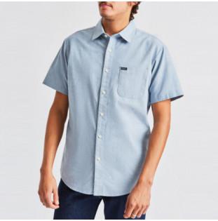 Camisa Brixton: CHARTER OXFORD SS WVN (LBLCH)