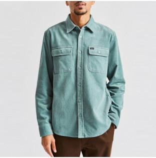 Camisa Brixton: BOWERY LS FLANNEL (JADE)