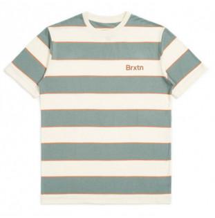 Camiseta Brixton: HILT PRINT SS KNIT (DVCYP)