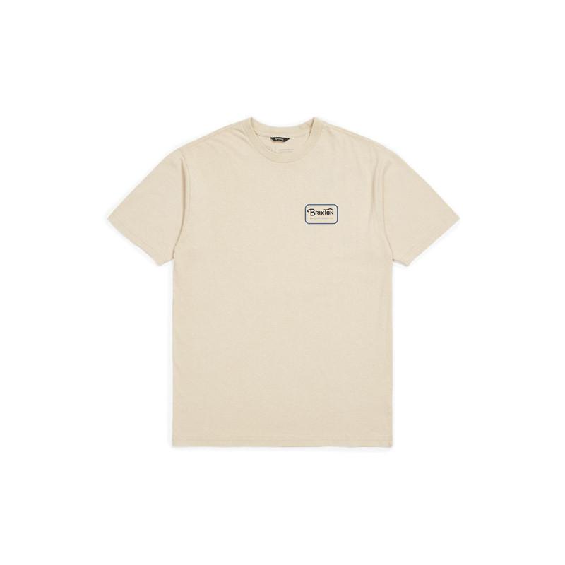 Camiseta Brixton: GRADE SS STND TEE (VNBLU)