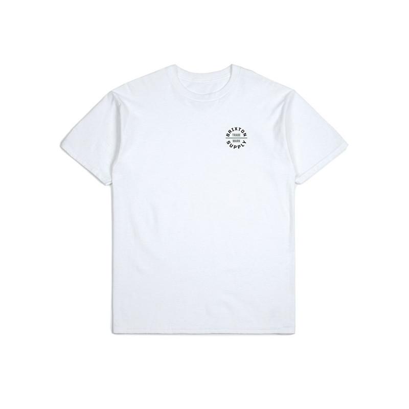 Camiseta Brixton: OATH V SS STT (WHITE)