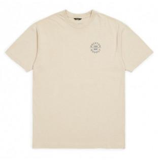 Camiseta Brixton: OATH V SS STT (VANIL)