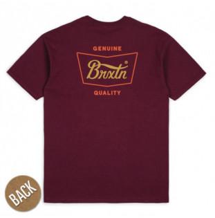 Camiseta Brixton: STITH SS STND TEE (BRGRD)