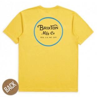 Camiseta Brixton: WHEELER II SS PREM TEE (SUYEL)