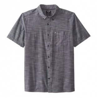 Camisa Hurley: ONE AND ONLY 20 WOVEN SS (BLACK)
