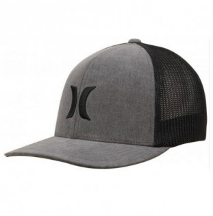 Gorra Hurley: ICON TEXTURES HAT (BLACK)