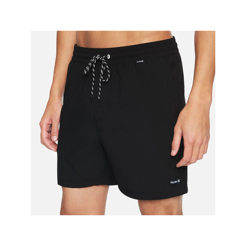 Bermuda Hurley: O AND O STRETCH VOLLEY 17 (BLACK)