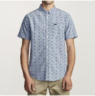 Camisa RVCA: THATLL DO PRINT SS (DISTANT BLUE) RVCA - 1