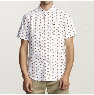 Camisa RVCA: THATLL DO PRINT SS (WHITE)
