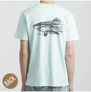 Camiseta RVCA: SEA SONG SS (DUSTY AQUA) RVCA - 1