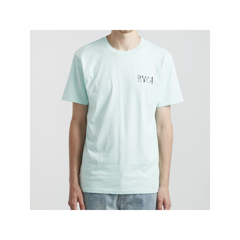 Camiseta RVCA: SEA SONG SS (DUSTY AQUA)