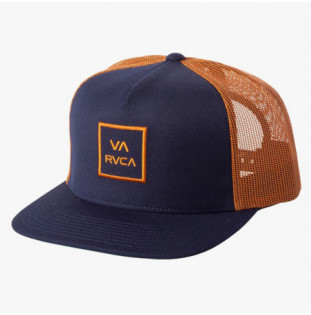 Gorra RVCA: VA ALL THE WAY TRUCK (NAVY RUST) RVCA - 1