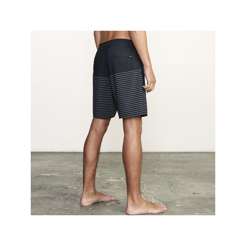 Bañador RVCA: CURREN TRUNK (BLACK)